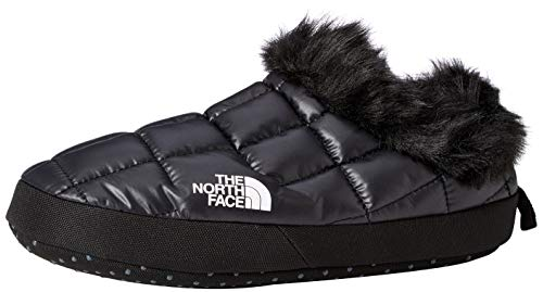 The North Face W TB TNTMUL Fur V, Zapatillas de Senderismo para Mujer, Negro TNF Negro TNF Blanco Ky4, M
