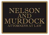 Nelson And Murdock ティンサイン ポスター ン サイン プレート ブリキ看板 ホーム バーために