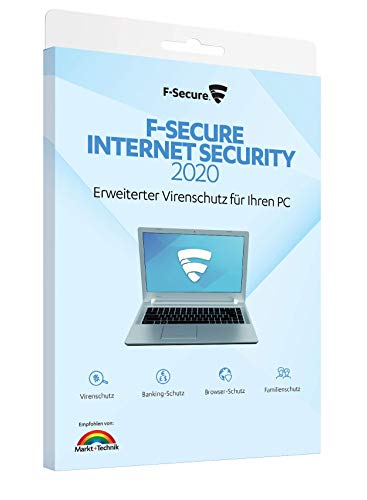F-Secure Internet Security - 1 Jahr / 1 PC [Aktivierungscode in Boxverpackung]