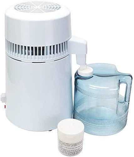 Wasser Destilliergerät Wasser Destiller Water Distiller 4L für Krankenhaus mit Wasserflasche Clinique Zuhause im BüRo auf Reisen im Labor