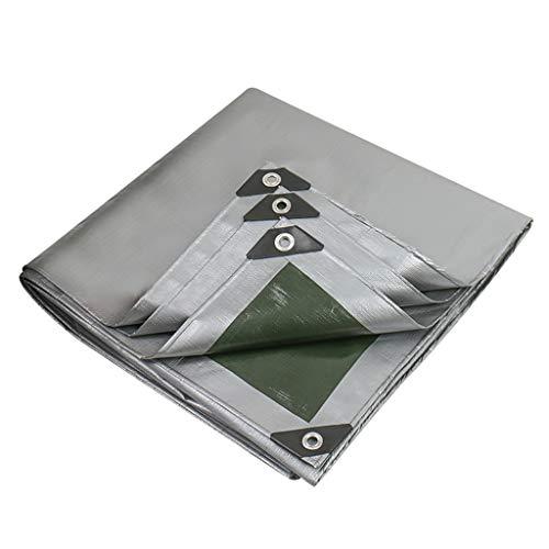 ZZR Durable Tarps Cover, 160g / m² 100% Waterproof Poly Tarp,Anti-Tear Rain,Rainproof,Dustproof,for Tarpaulin Canopy Tent, Boat, Pool Cover Shelter