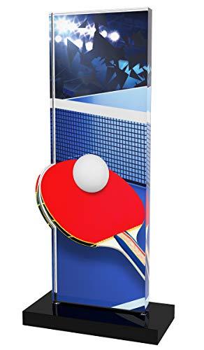 Trophy Monster Perspective - Plato de Ping-Pong (Grabado Gratuito, 3 tamaños), diseño de trofeos