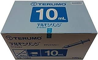テルモディスポシリンジ中口針なし10mlss-10sz100本入