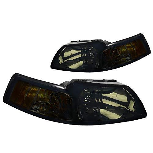 03 mustang halo headlights - 8