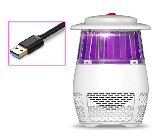 Ning Night Volautomatische insectenlamp met elektronische afzuiging, ruisonderdrukking, geen straling voor moeder-kind-fotokatalysator, led-ventilator met muggenbescherming