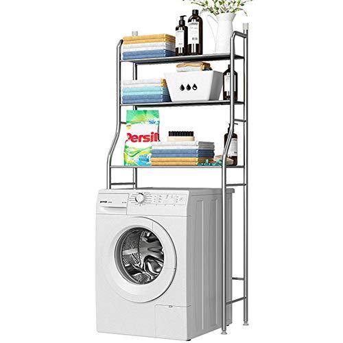 Umora ランドリーラック トイレラック 浴室ラック 洗濯機ラック すき間収納 整理棚 収納棚 ステンレス 省スペース