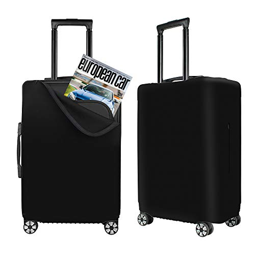 Luggage Cover Cute Blooming Vector Cactuses Protective Travel Trunk Case Elastic Luggage Suitcase Protector Cover