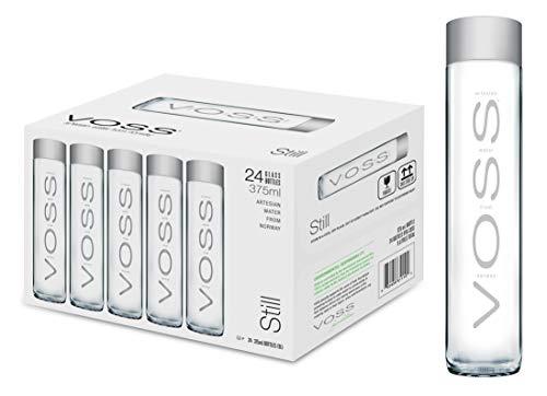 VOSS Water Still 375 ml, natürliches Mineralwasser, 24er Pack (Einweg, 24 x 375 ml)