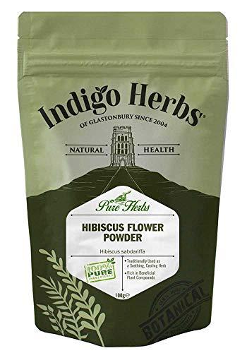 Indigo Herbs Polvo de Flor de Hibisco 100ml