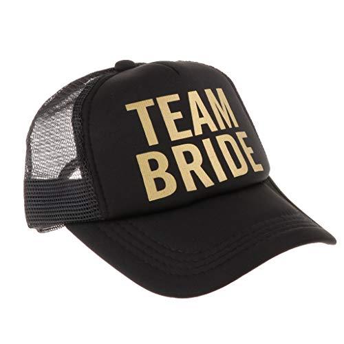 Team Bride Squad Sombreros De Malla Gorra De Fiesta De Gallina Sombrero De Snapback para Despedida De Soltera - Bachelorette de Ducha