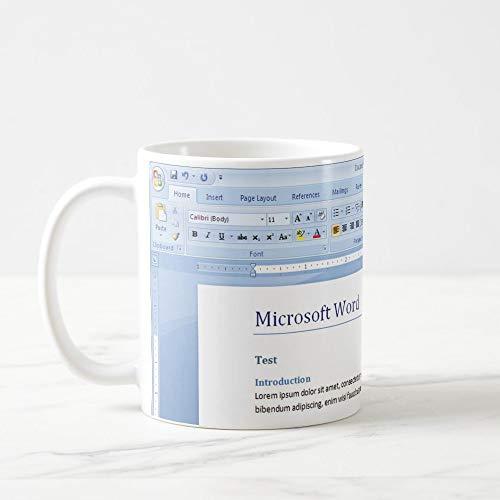 King34Webb - Taza de Microsoft Word para Microsoft Word Template Word Word Plantillas de palabras Ms Word Reanudar Word Factura Word Microsoft Plantilla Office Geek Mug Excel
