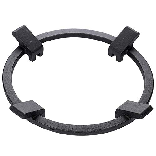Mungowu Cast Iron Wok Pan Support Rack Stand for Burner Gas Stove Hobs Cooker Home Kitchen Tools Cookware Accessories