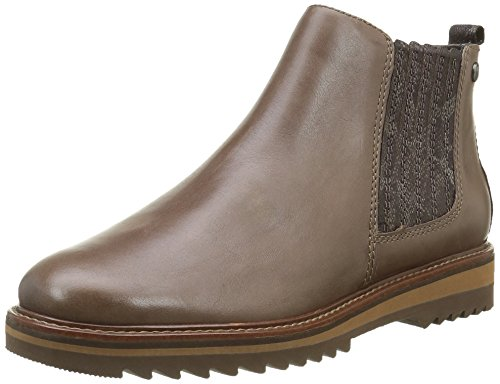 Be Natural by Jana Damen 25405 Chelsea Boots, Beige (Taupe 341), 38 EU