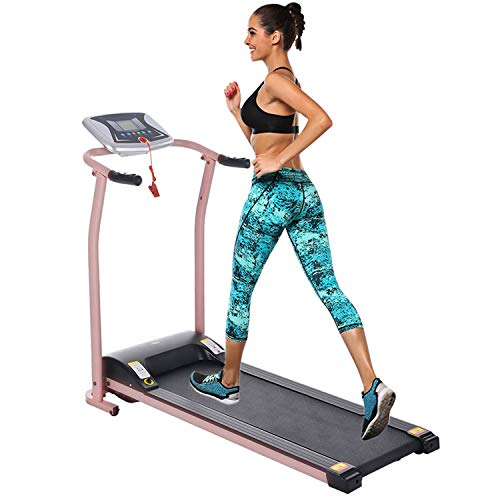 Folding Treadmill Electric Motorized Power Walking Jogging Running Exercise Fitness Machine Trainer Equipment for Home Gym Treadmills