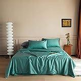 CHOU DAN edredon de Cuna,4 Conjuntos de algodón de algodón Suministros de Cama Dormitorio Edredón-8_Conjuntos de 1.5M A-4