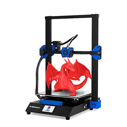 Tronxy XY-3 Pro Kit stampante 3D 300 * 300 * 400mm Alta sensibilità Stampa intelligente Assemblaggio rapido Stampa silenziosa