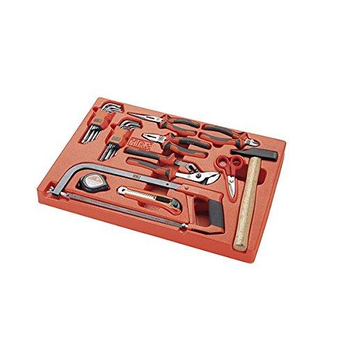 Alyco 170915 - Bandeja plastico para carro metalico HR con 30 herramientas