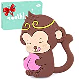 Tinabless Teething Toys, Baby Teething Toys/Baby teether chew Toys/ - Teethers Toy Best for Freezer, Little Boys and Girls 0-6 6-12 Months, Babies Shower Gifts
