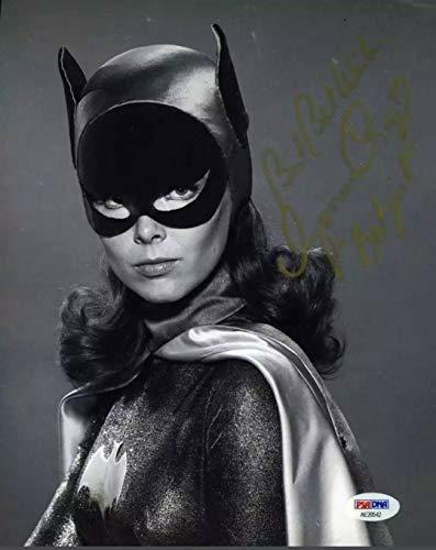 Authentic Autographed Batman Yvonne Craig Autograph ~ Batgirl 8x10 Uninscribed (1966) PSA/DNA