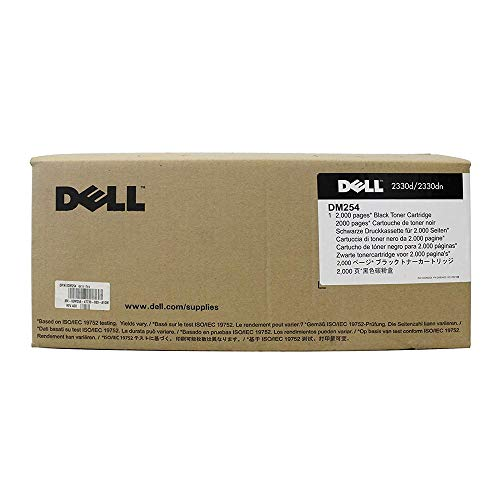 Dell 2330d / 2330dn Standard Capacity Black Toner Cartridge