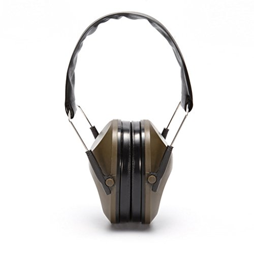 LDA Get Fresh Foldable Hearing Protection Shooting Sports Ear Muffs Noise Cancelling Earmuff Shooting Learning Industrial Sleep Soundproof Earmuffs Green