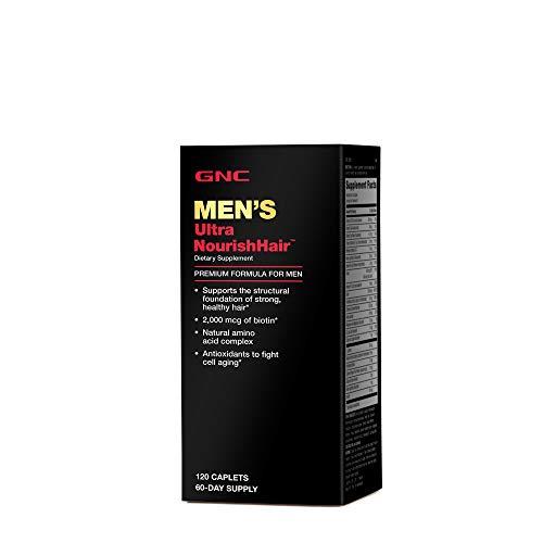 GNC Men's Ultra NourishHair Supplement