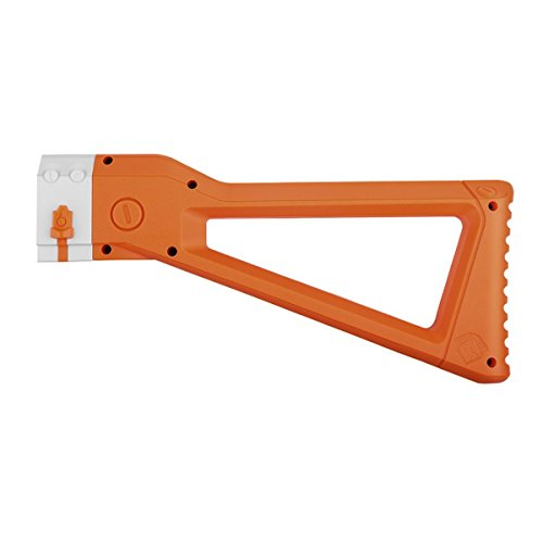 WORKER Mod ABS Plastic Shoulder Stock Kits for N-Strike Elite Retaliator Toy Color Orange