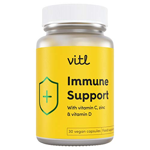 VITL Immune Support | Immunity Supplement to Help You Reinforce Your Bodies Natural Defences and Support a Well-Functioning Immune System | 30 Vegan Capsules