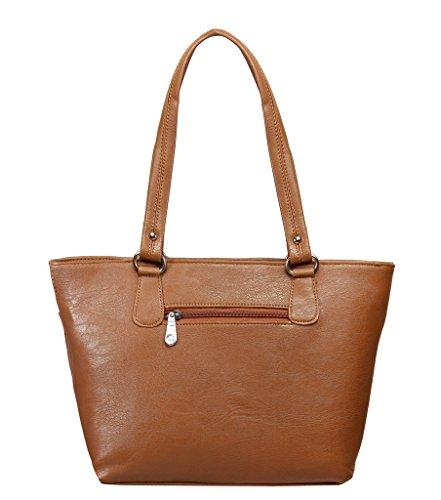 Louise Belgium Designer Tote Bag for Women - Dark Brown