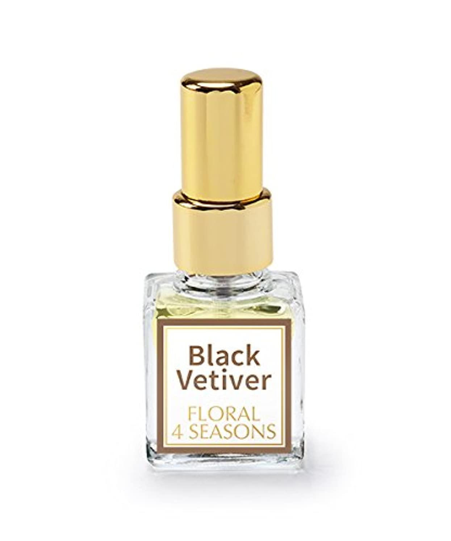 部むしゃむしゃまつげ武蔵野ワークスの香水「ブラックベチベル」(EDP/4mL)