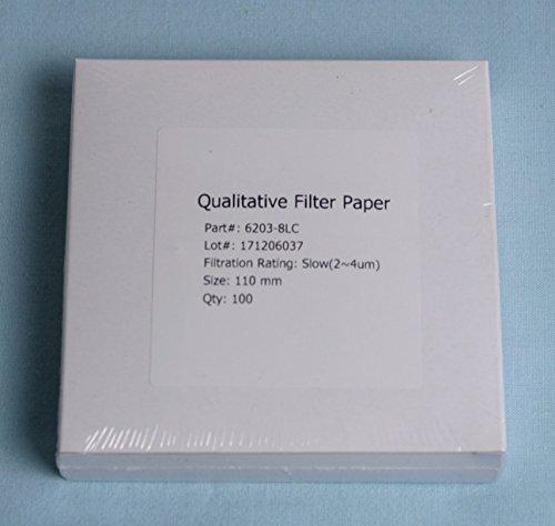 11cm Scientific Equipment of Houston Qualitative Filter Paper Medium