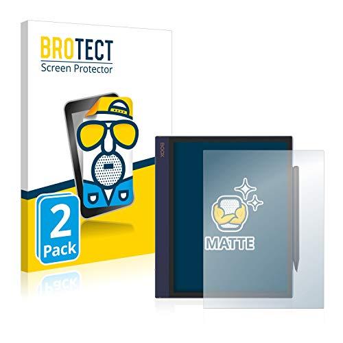 BROTECT 2x Antireflecterende Beschermfolie compatibel met Onyx Boox Note Air Anti-Glare Screen Protector, Mat…