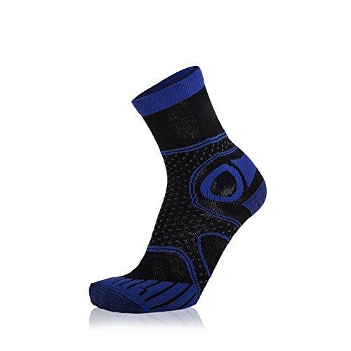 EIGHT SOX Trekking Tech Chaussettes de Trekking Multicolore Black/Blue Melange 35-38
