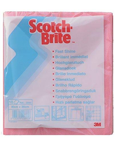 Scotch-Brite 10 x Microfasertuch 2060 rot - 40x36cm
