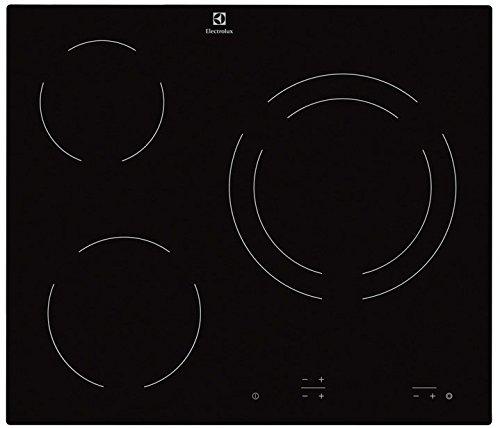 Electrolux EHF6231IOK hobs - Placa (Integrado, Negro, 1200W, Tocar, Parte superior delantera, 220-240V)
