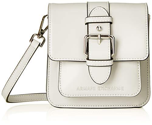 ARMANI EXCHANGE Small Crossbody Bag - Borse a tracolla Donna, Nero (Black), 15x5x14.5 cm (B x H T)
