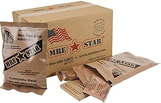 MRE Star MRE Kits Case 12 Pk