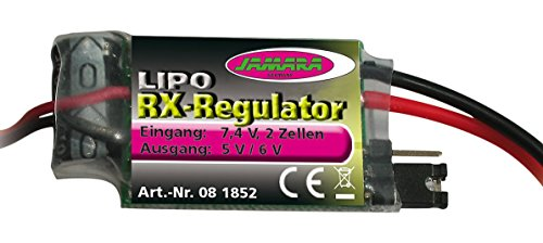 Jamara Jamara081852 5/6 V LiPo Régulateur de RX