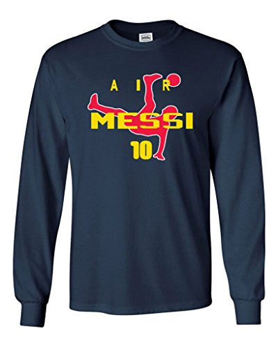 Long Sleeve Lionel Messi FC Barcelona 'Air Messi'T-Shirt YOUTH LARGE
