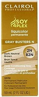 Clairol Professional Liquicolor 2N/82N Dark Neutral Brown, 2 oz (Pack of 2)