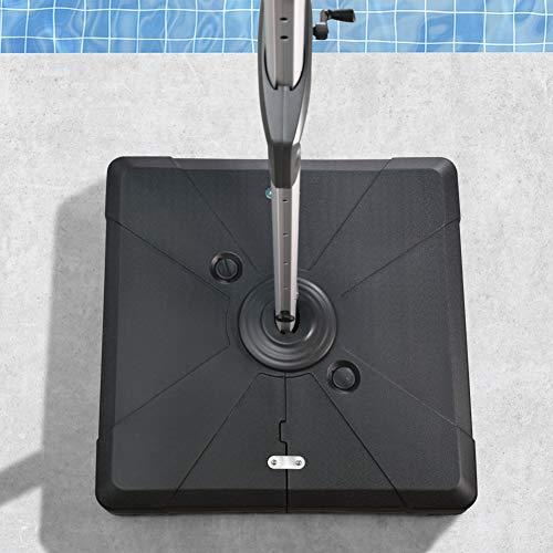 PURPLEAF Schirmständer für Ampelschirme, füllbar, 150 kg