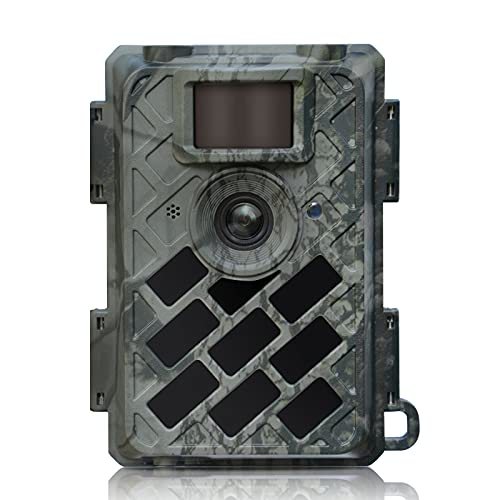 WingHome 630 Trail Camera, Wildlife Camera, Game Camera Deer Monitor Cam Hunting Accessery Gear with Leica M6 0.4s Trigger Time Farm Scounting Motion Activated Night Vision Waterproof IP66