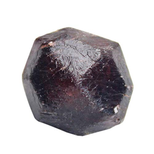 Kaxofang Piedra áspera de Granate Natural Partícula Grande Muestra Mineral de Materia...