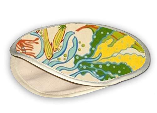 Tortilla,Pita,Flatbread Warmer for Microwave Oven - Under the Sea (12 inch)