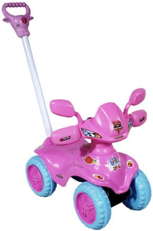 ARTI Baby Car and Push along Fantasy 662323 Pink RideOn Activity Toy