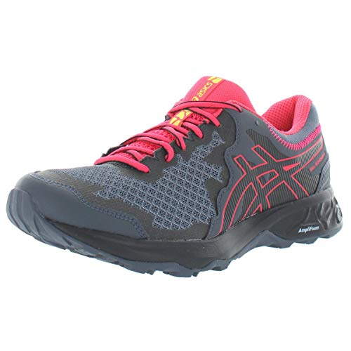 ASICS Women's Gel-Sonoma 4 Trail Running Shoes, 8.5M, Carrier Grey/Black