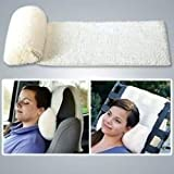 MTR Home Products Inc. Trdemarked Large Foam Neck Roll, Great Travel Pillow for Car or Plane.