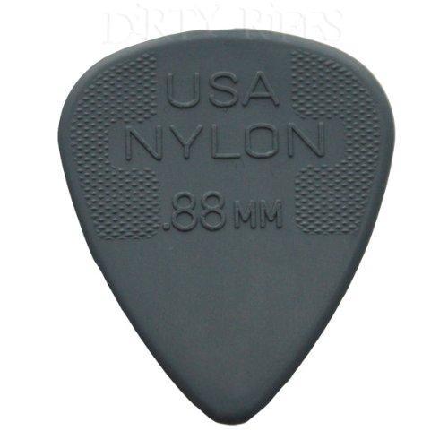 Jim Dunlop - Juego de púas de guitarra (nailon, 0,88mm, 10 unidades)