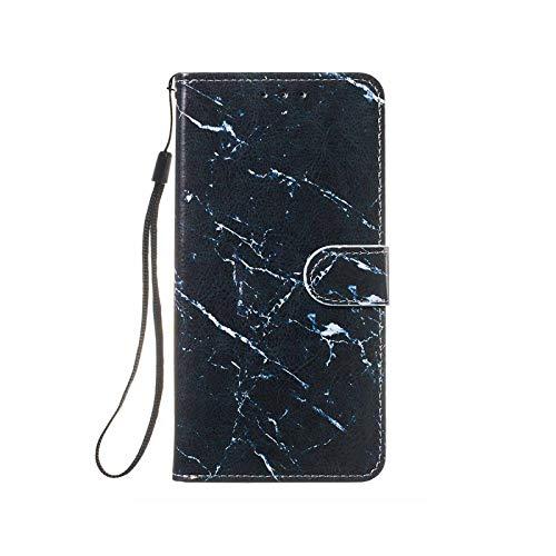 Funda con tapa para Samsung Galaxy S10 5G S10E S9 S8 Plus S7 Edge J3 J510 J330 J530 J730 Note 9-Black Marble-for S10 Plus