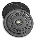 American Bench Craft Shotgun Shell Coasters - Leather Coasters Set of 4 - Rustic Coasters (Black)